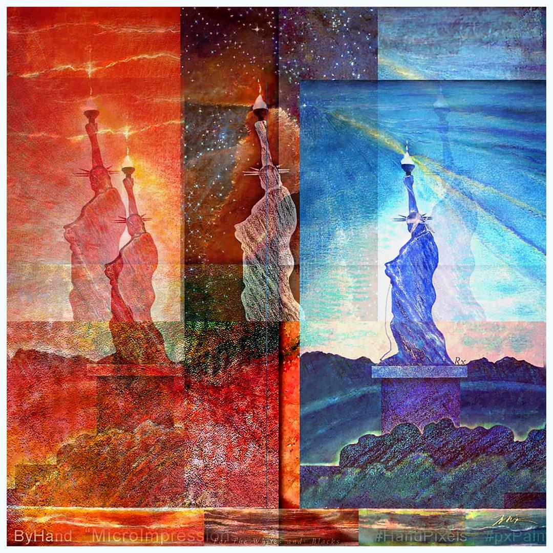 Landscape 21C Liberties Triptych SHEROES 21C Adaptation