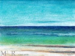 Long I Sound Chalk_ConTEMPOrary Art Impressionist Landscape NY