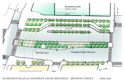 Certified ConsultingArborist 9A Median Planting Plan