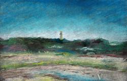 Cape Monument Ptown · ConTEMPOrary Art Impressionist Landscape MA