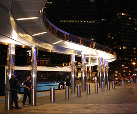 PM Plaza Canopy - West Length