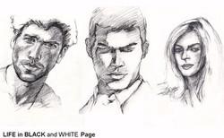 Pop Salon LIFE in BLACK WHITE PAGE