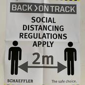 COVID-19 social distancing regulations a