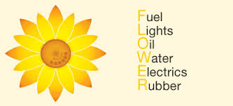 FLOWER - Fuel, Lights, Oil, Water, Electrics & Rubber