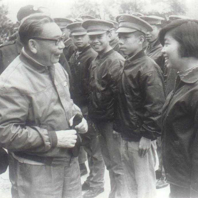 蔣經國先生探問學生