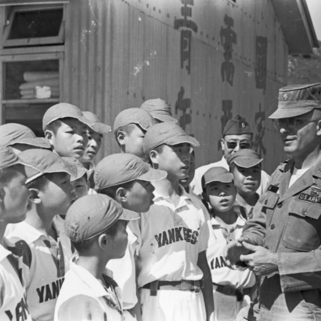 美軍教棒球