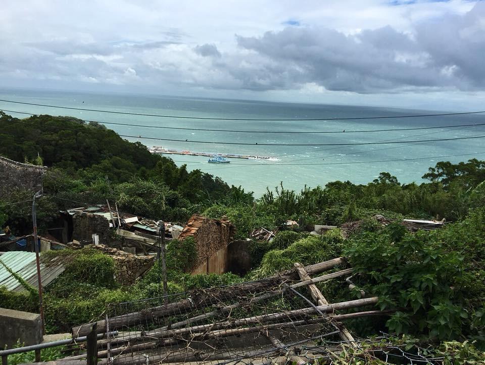 西莒・西坵村風景