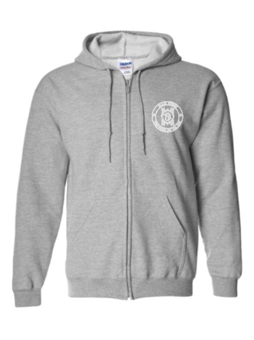 BAR NINE Full-Zip Hooded Sweatshirt