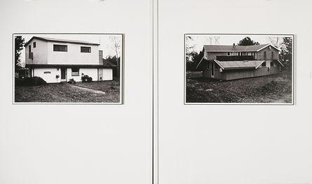 Ane Mette Ruge. Solo exhibition, Kastrupgaard, Copenhagen. 'Arkitektur 1-2', 'Architecture 1-2'.