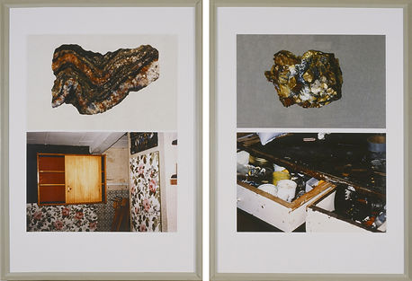 Ane Mette Ruge, solo exhibition, Kastrupgaard, Copenhagen. Photo series, 'Kompressioner', 'Compressions'.