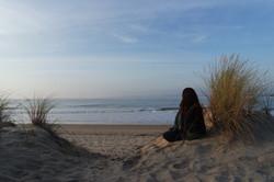 méditation devant la mer