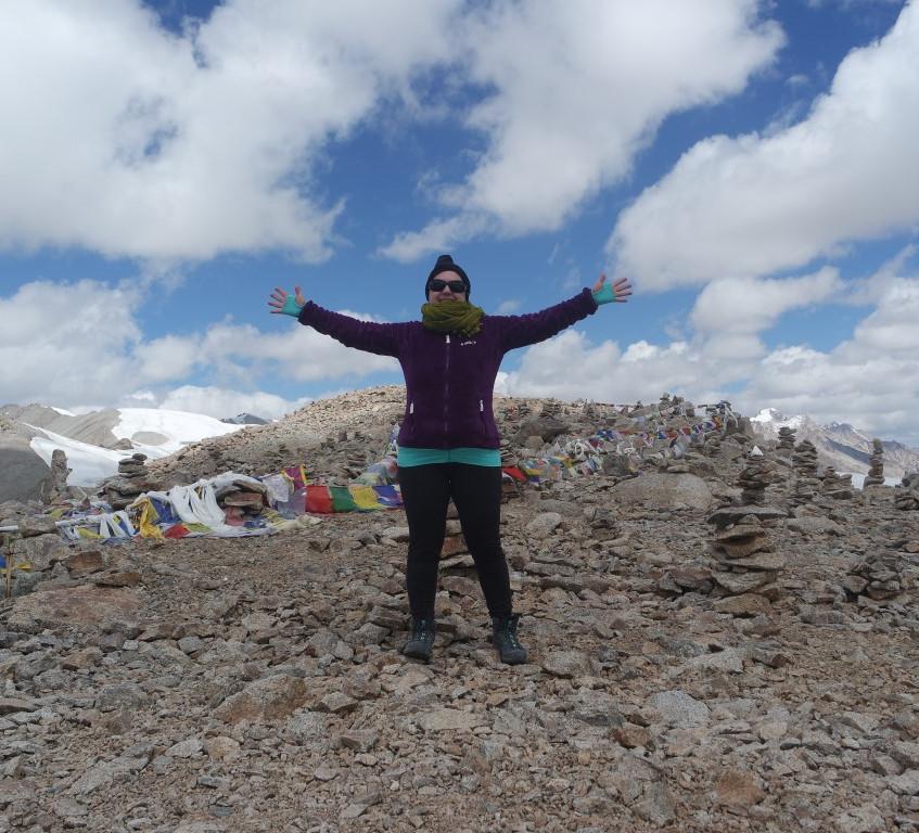 au sommet du Lasermo La; 5438m d'alt