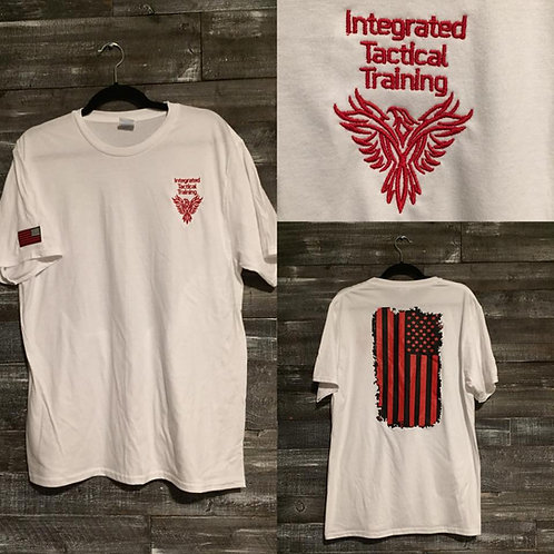 Integrated Tactical Training Tee-White