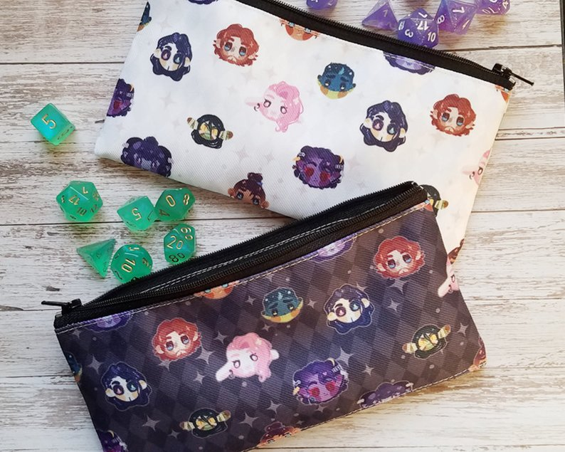 Mighty Nein Pouches