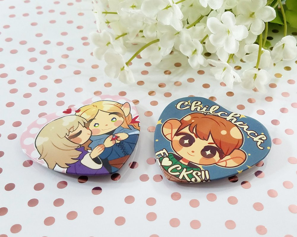 Dungeon Meshi Buttons