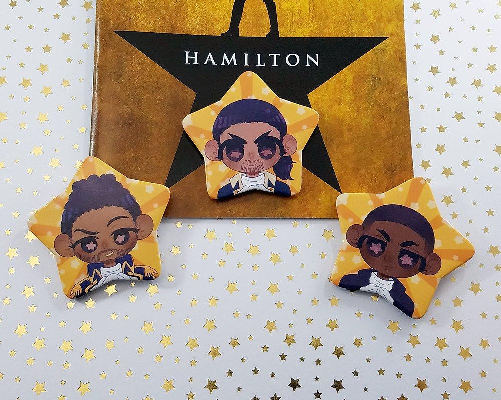 Hamilton Buttons