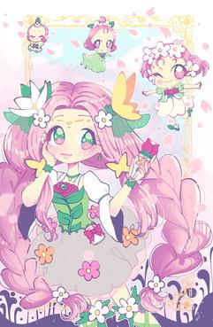 Cure Felice - Mahou Tsukai precure