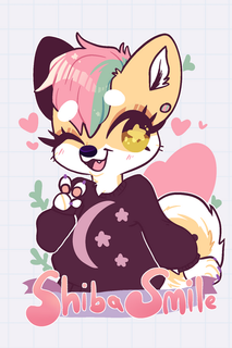 Shibasmile Badge 2 '19