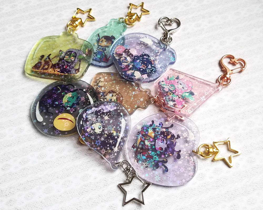 Mighty Nein Bottle Charms
