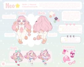 Neo☆ Ref Sheet
