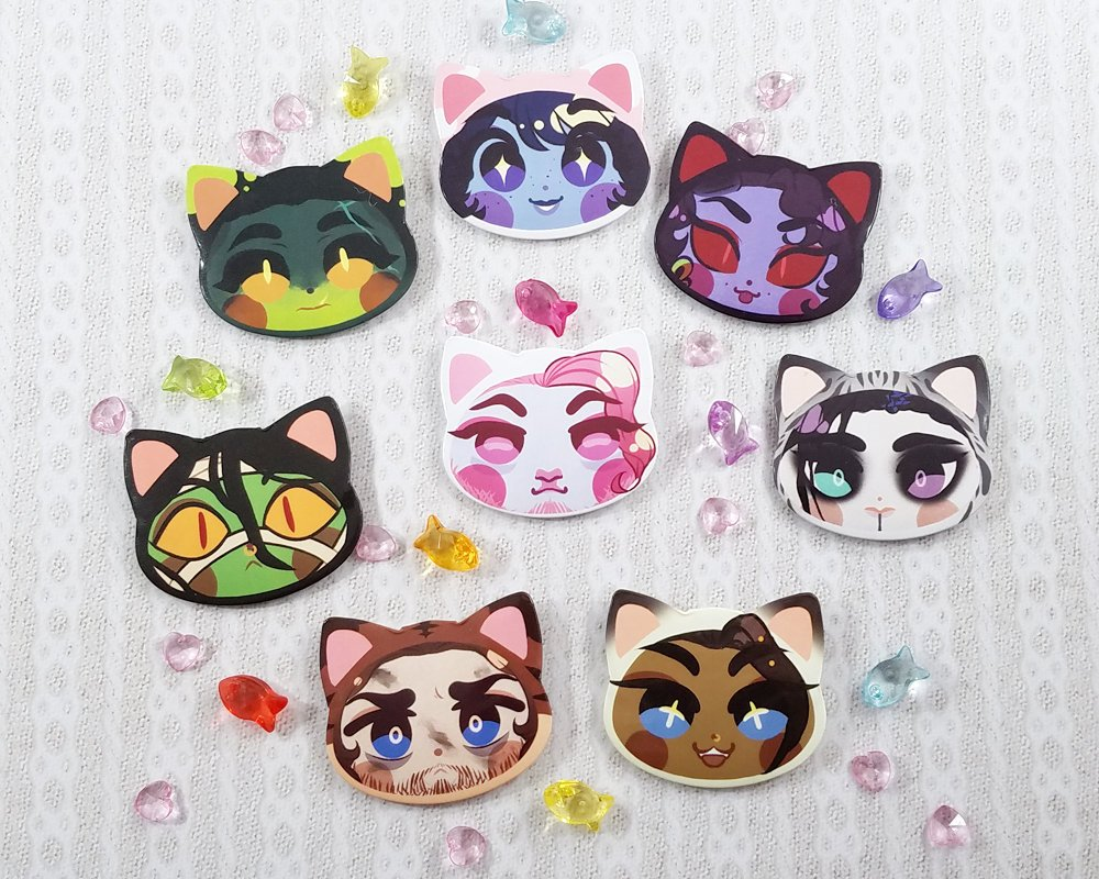 Mighty Nyaein Buttons