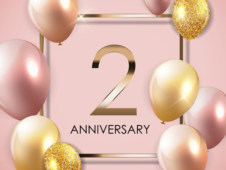 Our Second Anniversary
