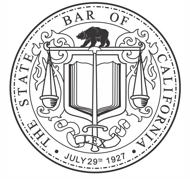 The logo for the State Bar of California