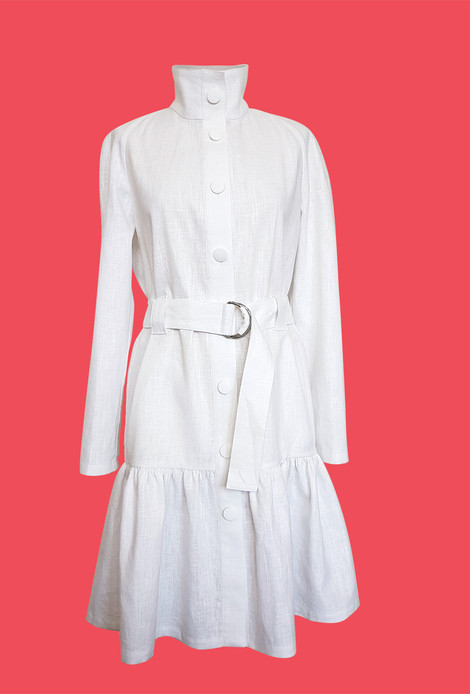 French Trench white