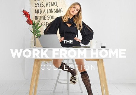 WORK FROM HOME COLLECTION campaign