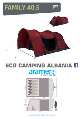 Family Tent - 5 Persons