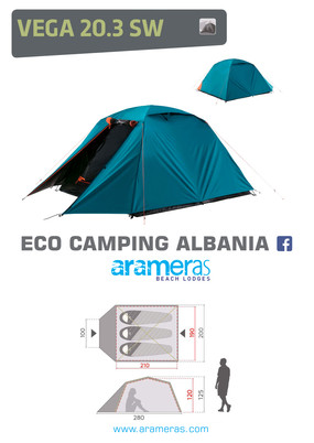 Camping Tent - 3 persons