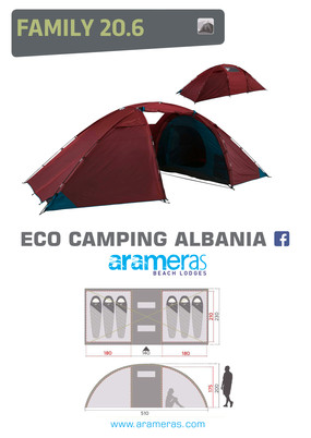 Family Tent - 6 Persons
