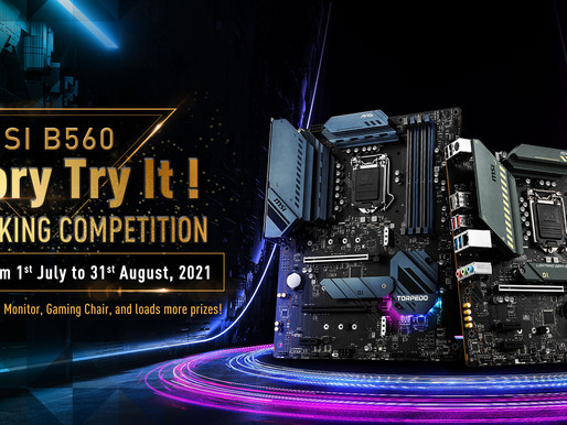 MSI B560 Memory Try It! Overclocking Competition has ended with 6200MHz frequency of DDR4 memory