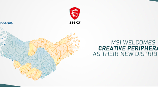 MSI On-boards Creative Peripherals and Distribution Limited as its New Distributor for India