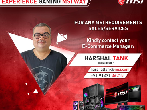 Introduction of MSI E-Commerce Manager Mr Harshal Tank