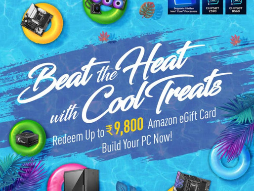 Beat the Heat with Cool Treats End User Promotion