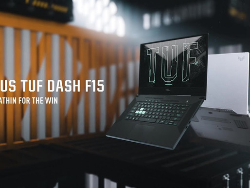 ASUS strengthens its TUF series with the launch of TUF Dash F15 Gaming Laptop in India