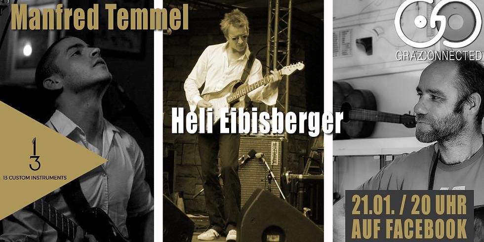 Graz Connected feat. Manfred Temmel & Heli Eibisberger