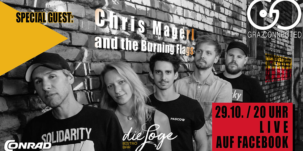 Graz Connected feat. Chris Magerl and the Burning Flags