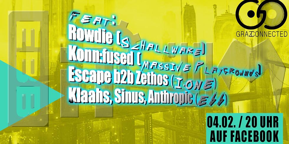 Graz Connected feat. Ehrliches Bum Bum, Massive Playgrounds, I.ONE und Schallware