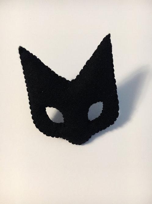 Recycled textile mijamo pincushion - Black