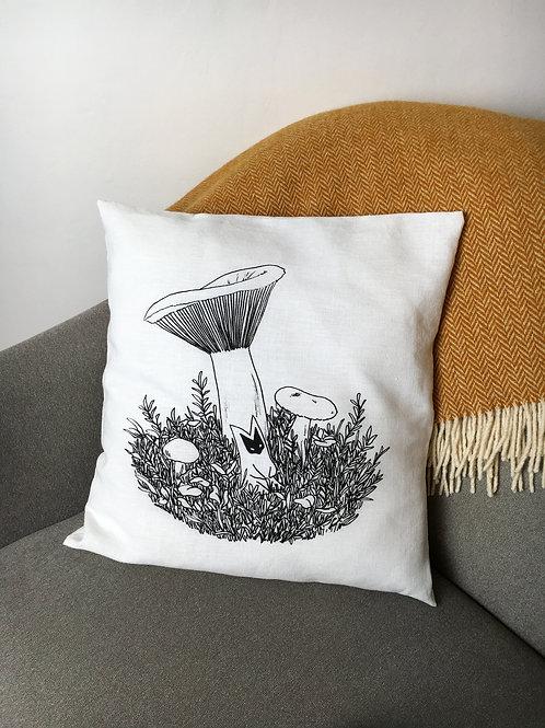 Milkcap Cushion cover