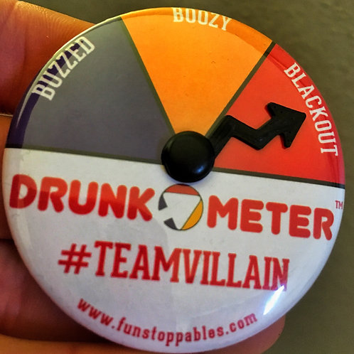 #TEAMVILLAIN DRUNK O METER