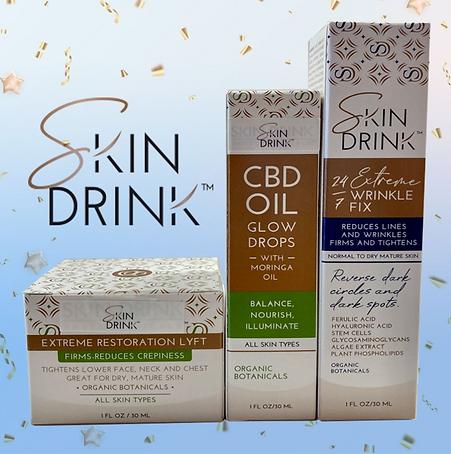Skin Drink Cocktail Oct 2021