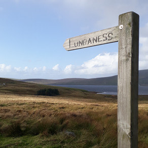 Where can I walk in Shetland - almost anywhere!