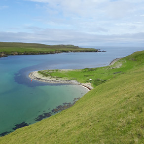 A Yomp in Yell and Historic Tragedy at Sea