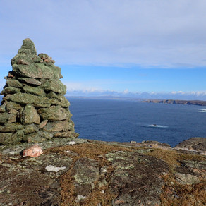 A favourite Westside coastal walk and frogs at Da Gairdins, Shetland