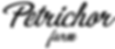 Petrichor Farm Logo Font 2.png
