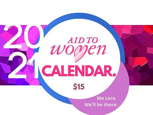 2021 Aid to Women Calendar