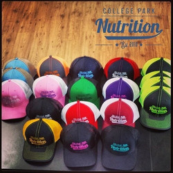 Custom embroidery! #Swag #SwagSportswear #Hats #Design
